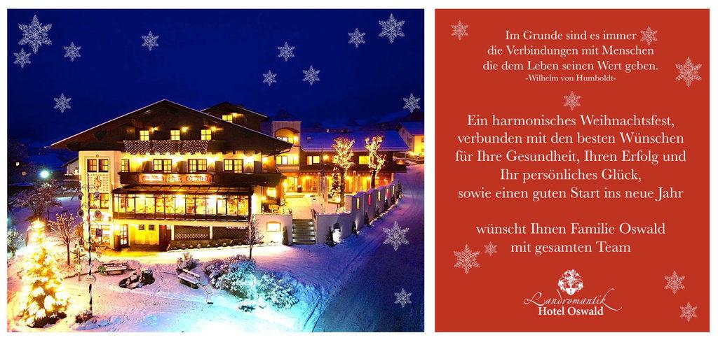Frohe Weihnachten wünscht das Landromantik Team!