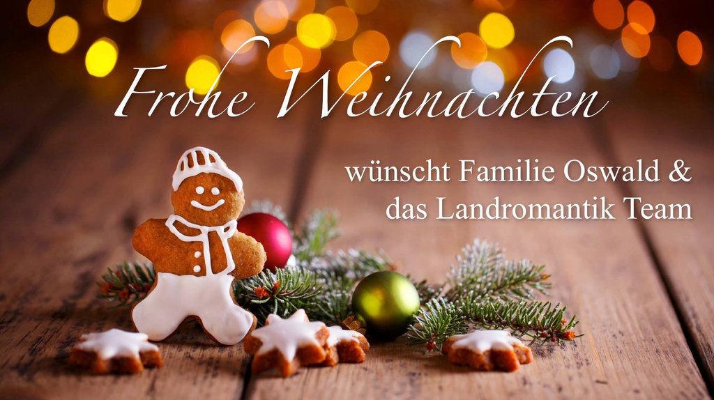 Frohe Weihnachten Familie.Frohe Weihnachten Hotel Oswald