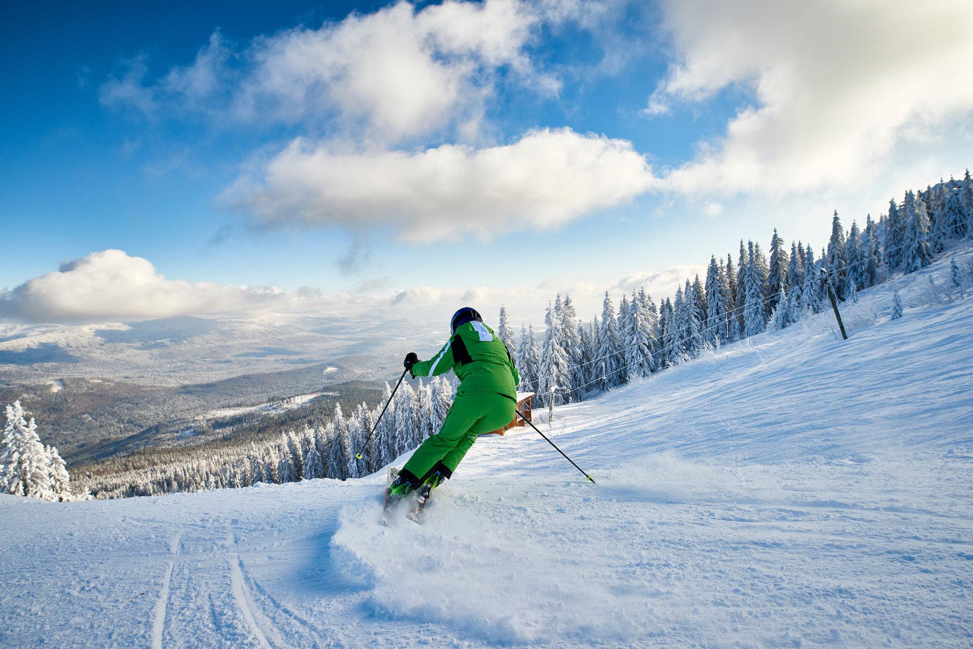 Skifahren Bayerischer Wald Skiurlaub Skigebiete Bayern Ski Fahren
